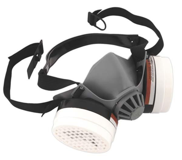 Sealey - SSP1604  Paint Spray Respirator Deluxe Model