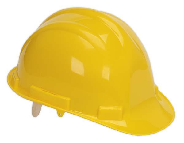 Sealey - SSP17Y  Safety Helmet Yellow BS EN 397