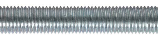 Sealey - STUD16  Studding M16 x 1mtr Zinc DIN 975 Pack of 5