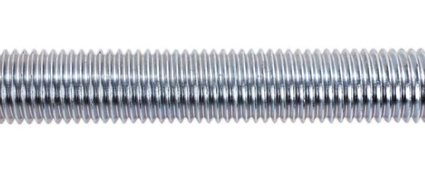 Sealey - STUD20  Studding M20 x 1mtr Zinc DIN 975 Pack of 2