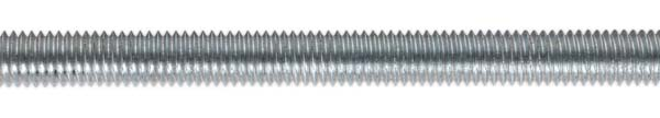 Sealey - STUD8  Studding M8 x 1mtr Zinc DIN 975 Pack of 5