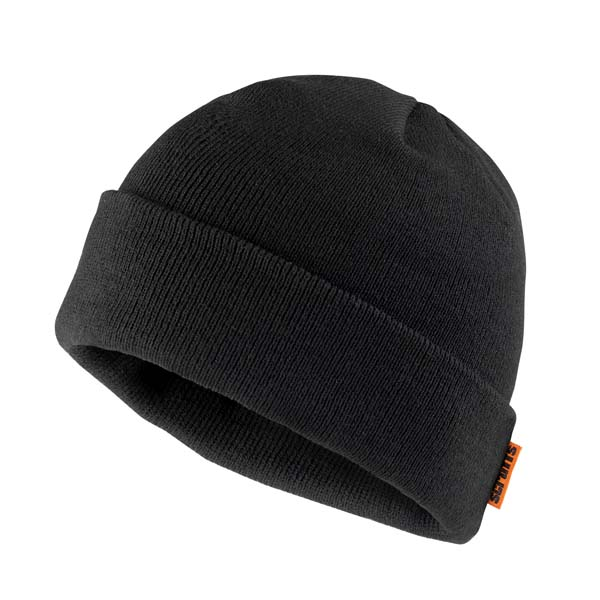 Scruffs Knitted Thinsulate Hat Black