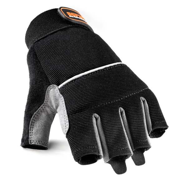 Scruffs Max Performance Fingerless Gloves Black