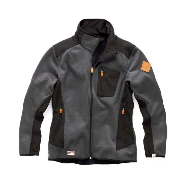 Scruffs Classic Tech Softshell Charcoal Size S