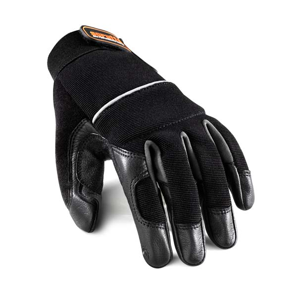 Scruffs Leather Trim Gloves Black Sz XL