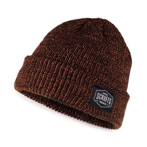 Scruffs Vintage Beanie Hat Orange/Black