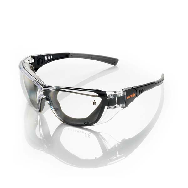 Scruffs Falcon Safety Black Specs