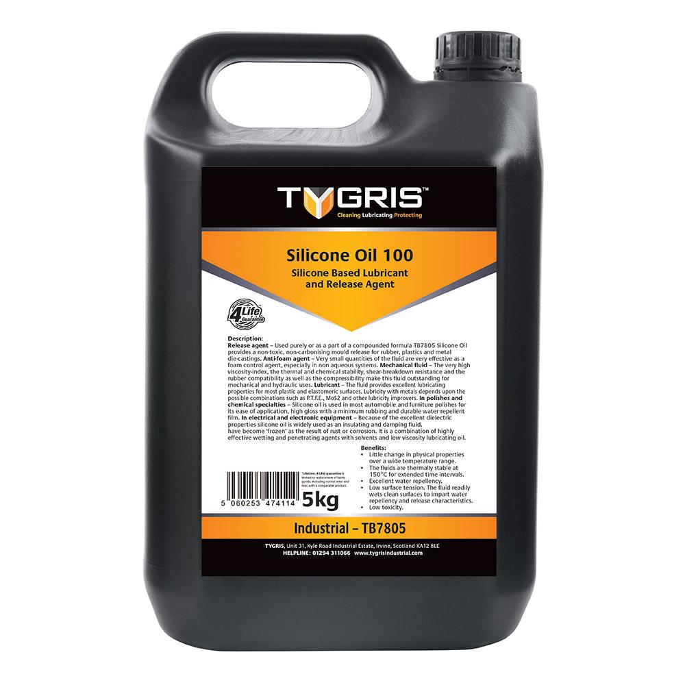 TYGRIS Silicone Oil 100 - 5 Kg TB7805