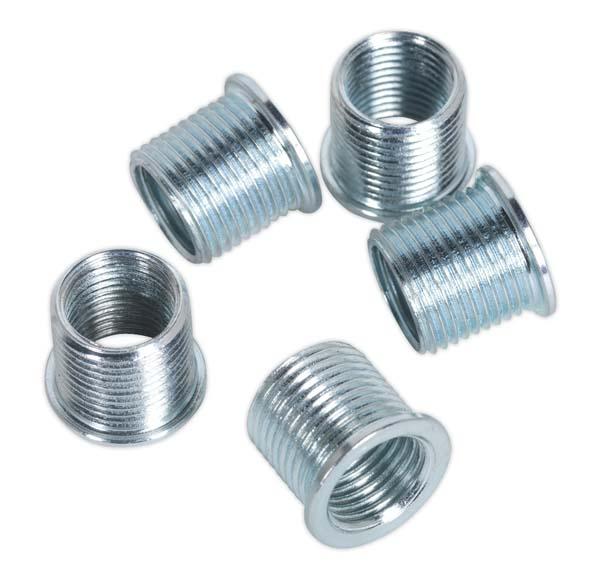 Sealey - VS311.02  Thread Insert M10 x 1mm for VS311 Pack of 5