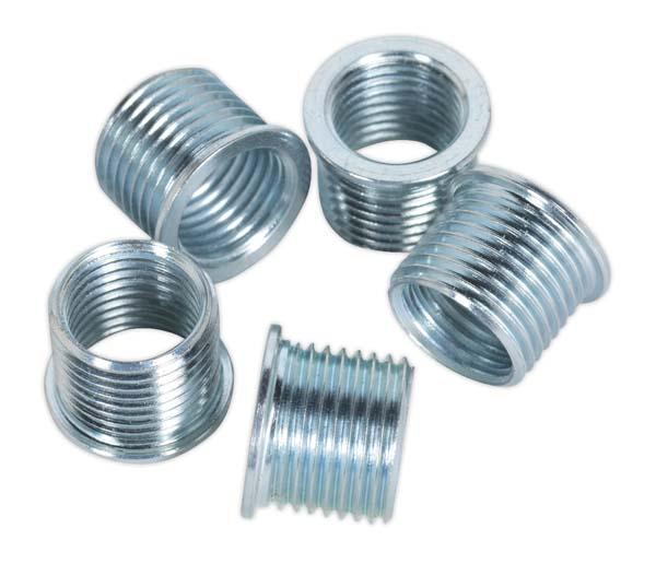 Sealey - VS311.04  Thread Insert M12 x 1.25mm for VS311 Pack of 5
