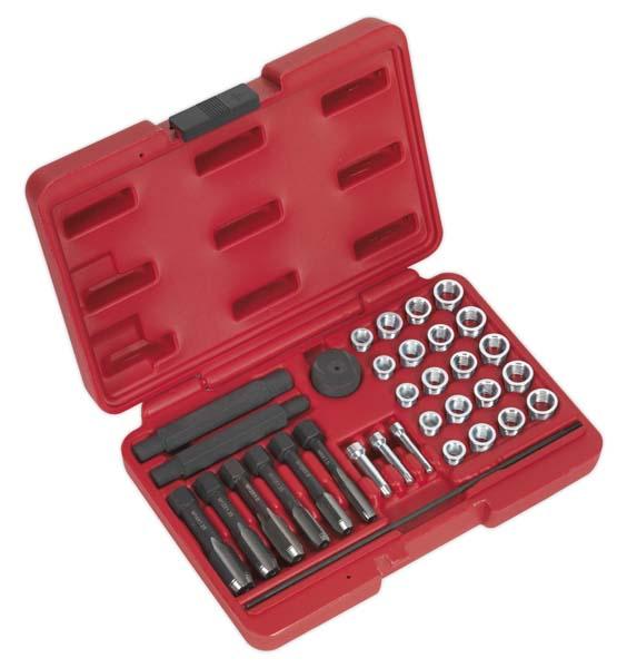 Sealey - VS311  Glow Plug Thread Repair Set 33pc