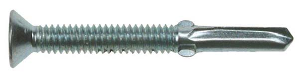 JCP 5.5 x 50mm Csk Self Drilling Screws - Timber to Steel  **Heavy Section**