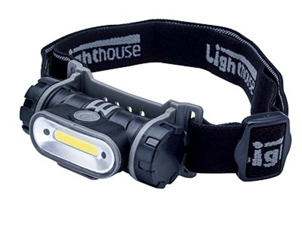 LIGHTHOUSE ELITE  150 Lumens COB LED Rechargeable Headlight  - L/HEHEAD150R