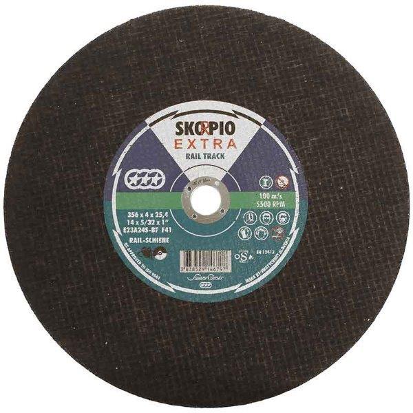Abracs  Skorpio 356mm x 4mm x 25.4mm RAIL DISC