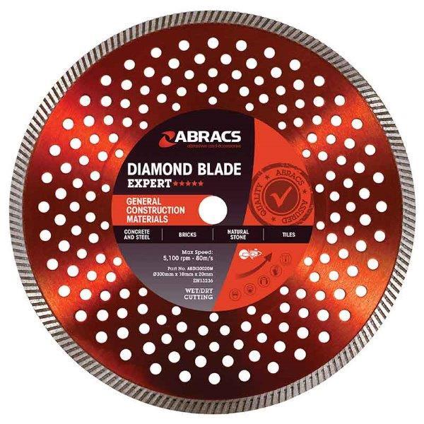 Abracs GCM Diamond Blade 115mm x 10mm x 22mm