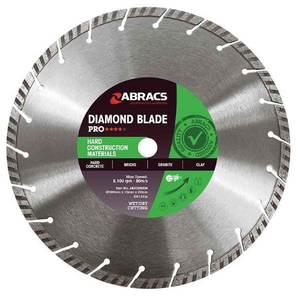 Abracs HCM Diamond Blade 230mm x 10mm x 22mm
