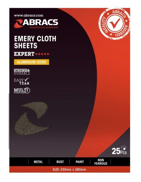 Abracs Emery Sheet 40grit