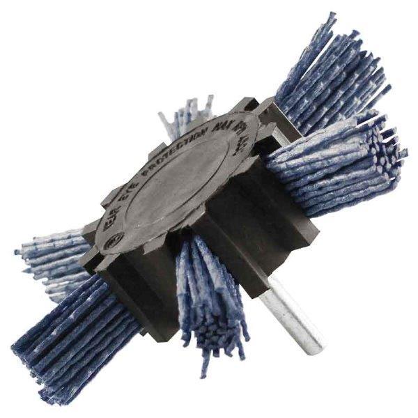 Abracs  100mm FILAMENT STRIP BRUSH - BLUE