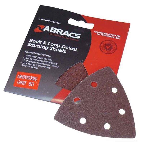 Abracs Hook & Loop Triangle 93mm x 93mm x 40g