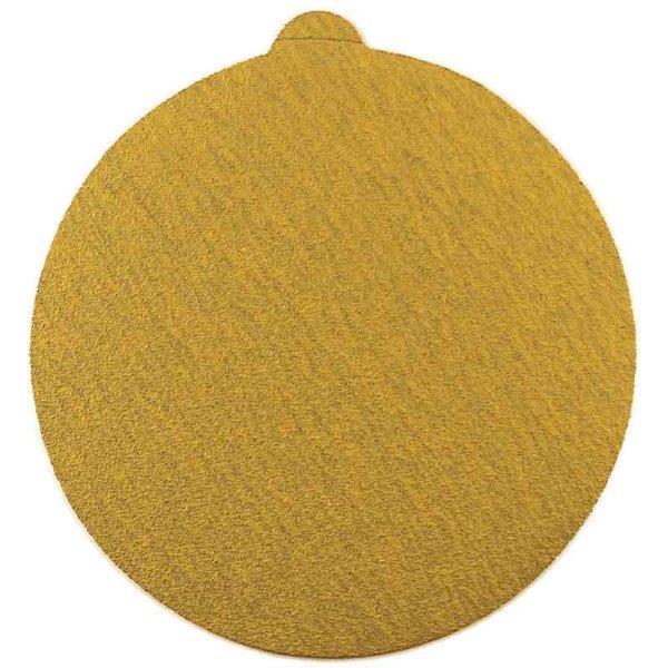 Abracs  225mm x 80g Gold Hook & Loop Disc