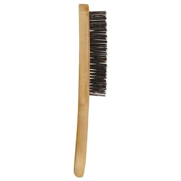 "Abracs  3 ROW ""V"" SHAPED WOODEN HANDLED BRUSH"