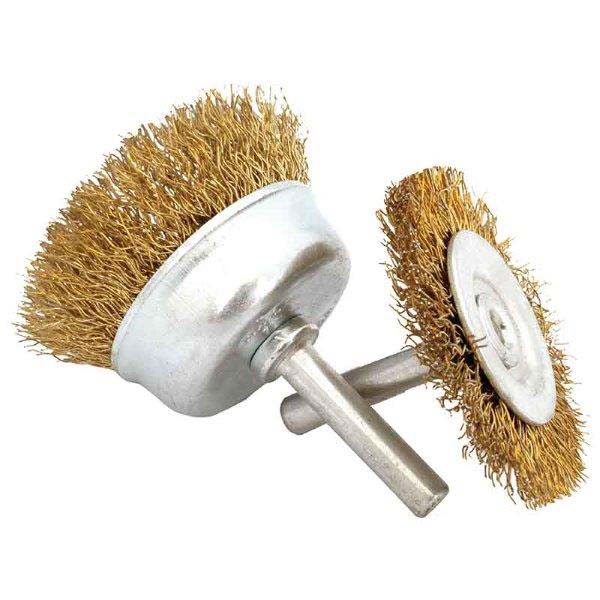 Abracs  SPINDLE MOUNTED 100mm CIRCULAR WIRE BRUSH